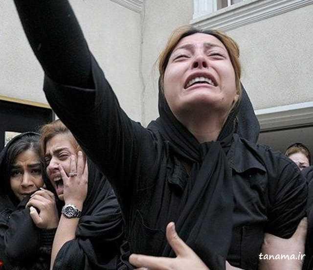 مراسم خاکسپاری مسعود رسام