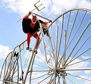بزرگترین دوچرخه جهان