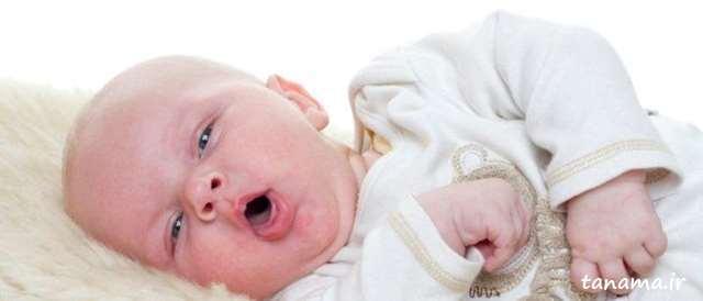 خلط گلوی نوزاد