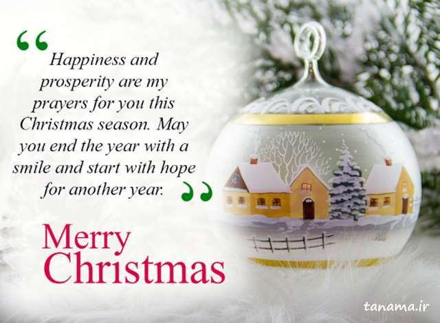عکس نوشته کریسمس