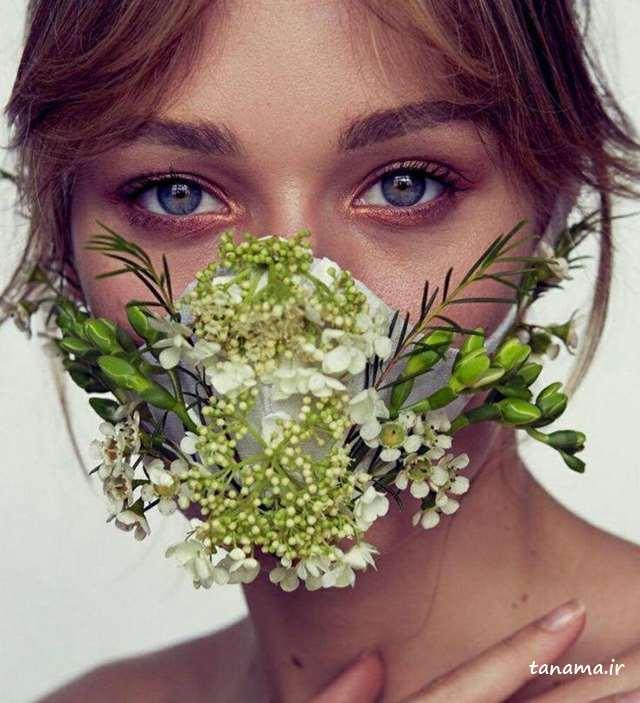 آرایش با ماسک