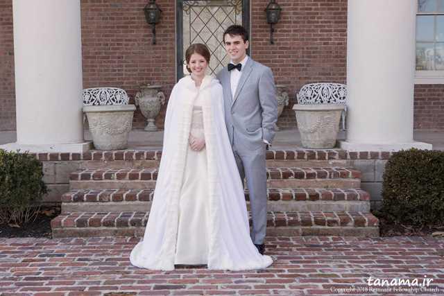 لباس عروس زمستانی