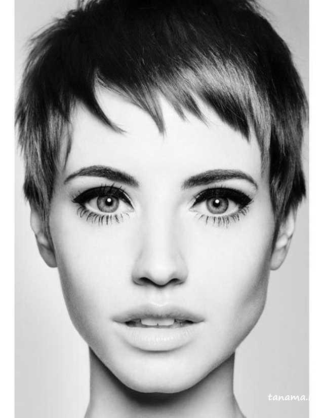 مو کوتاه زنانه