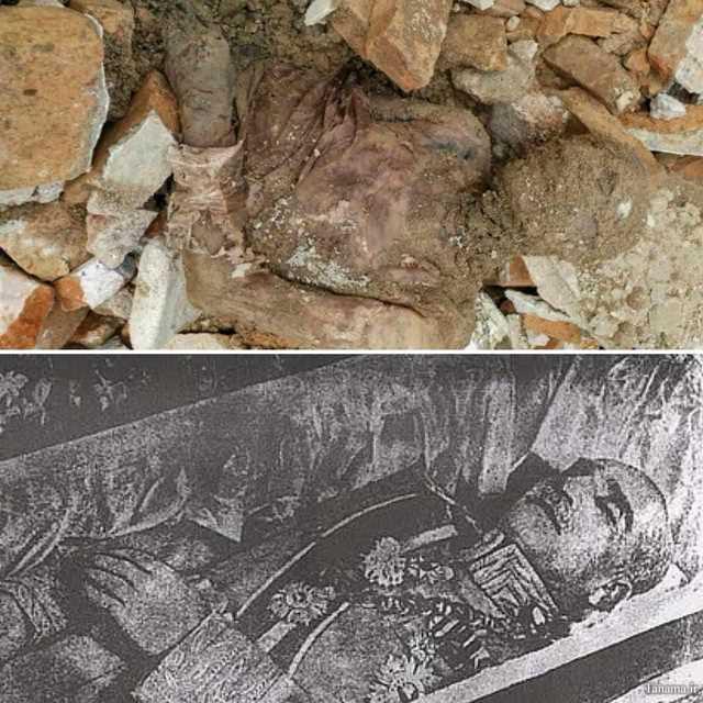 جنازه رضا شاه