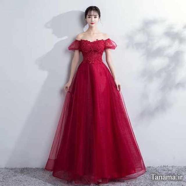 مدل عروس جدید ملکه ای جدیدترین مدل لباس شب 2018