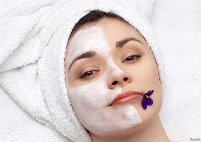 درمان چین چروک صورت با ماسک
