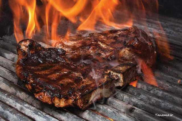 گوشت سوخته