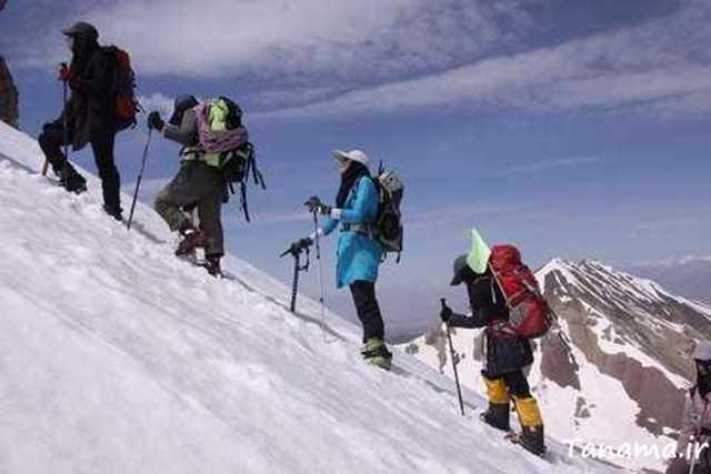 زنان کوهنورد