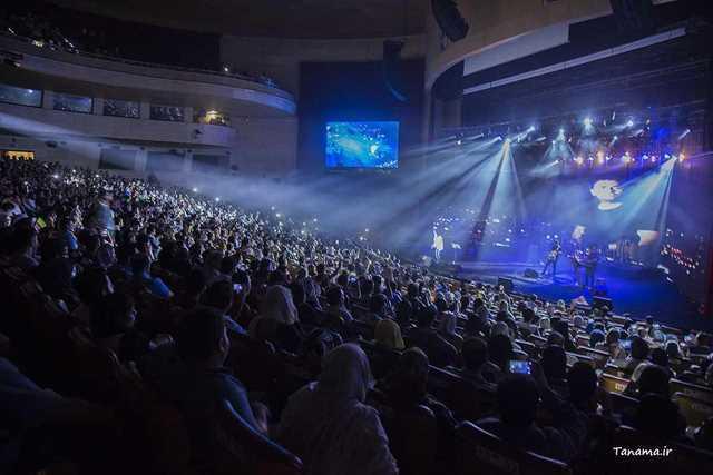 کنسرت های پایتخت