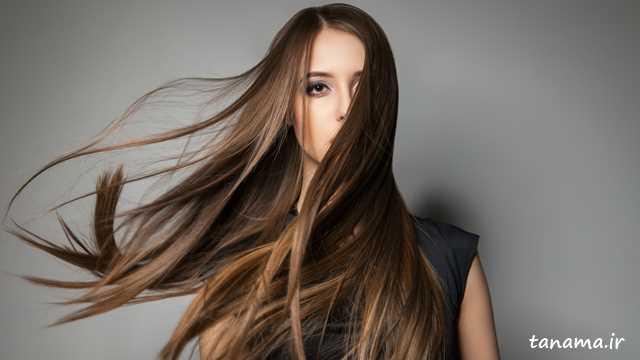 مدل رنگ مو برای موی بلند
