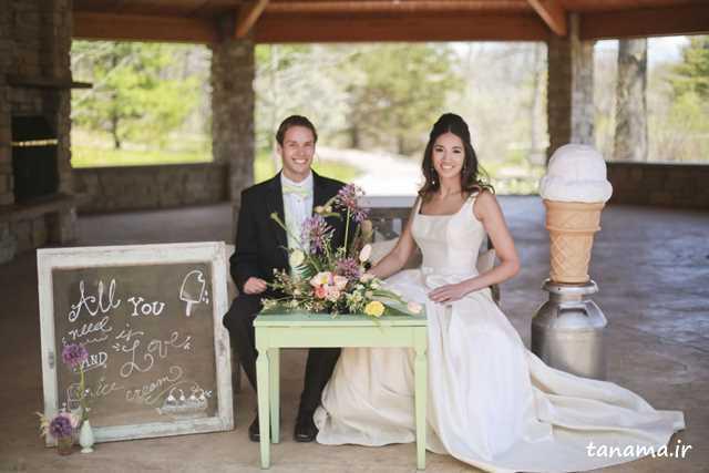 لباس عروس بهاره