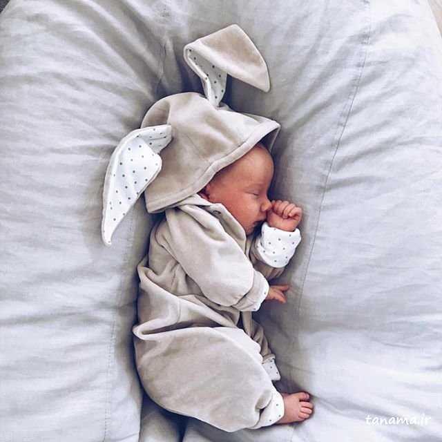 تیپ تابستانی نوزاد